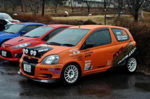 TAKUMI CRAFT ADVAN KYB Vitz(2011年仕様)