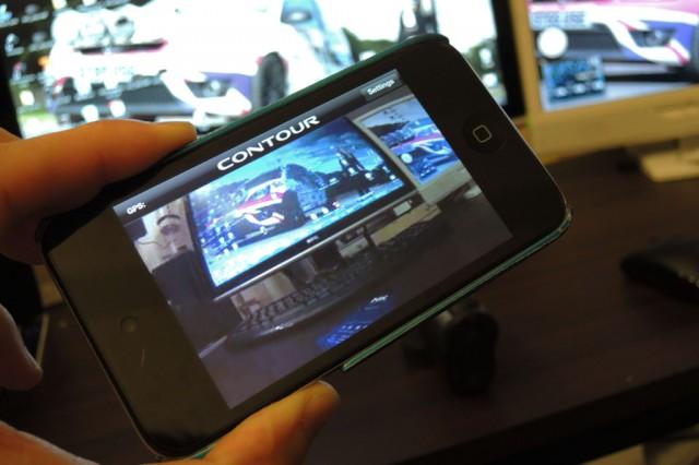 iPod touchによるContour+のモニタリング